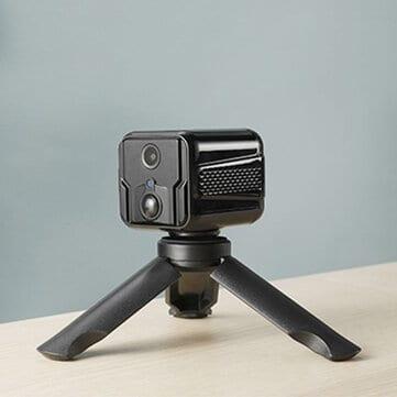 CAMSOY T9 MINI – מצלמת אבטחה/רשת עם סוללה מובנית לעד 200 ימי צילום ללא חוטים וטעינה! רק ב$39.6