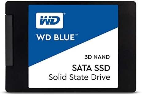 """כונן פנימי WD Blue 3D NAND 500GB SSD רק ב252 ש""""ח! (בזאפ 459 – 375 ₪)"""