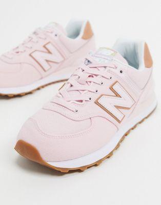 "New Balance 574 Pink – בשלל מידות רק בכ199 ש""ח עם משלוח (בארץ לפחות 100 ש""ח יותר)"
