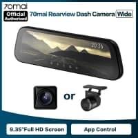 מחיר להיט! מצלמת רכב משולבת מראה מבית שיאומי 70MAI – הדגם החדש והמשופר עם מסך ענק ומלא ותמיכה ב2 מצלמות! החל מ$56.75!