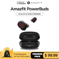 Amazfit PowerBuds – האוזניות המושלמות לספורט? (כולל חיישן דופק!) רק ב$67.99!!!