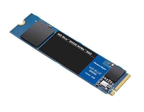 """כונן SSD מהיר WD Blue SN550 1TB NVMe רק ב515 ש""""ח עד הבית! (בזאפ 981 – 799 ₪)"""