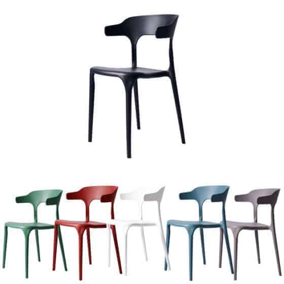 """בלעדי! סט 4 כסאות דקורטיבים פנים+חוץ בתקן UV רק ב529 ש""""ח כולל משלוח!"""