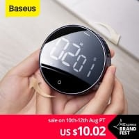 טיימר דיגטלי – לכיוון בסיבוב! מבית Baseus ושיאומי רק ב$10.21