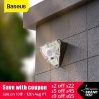 4 מנורות LED סולארי עם חיישן קרבה Baseus – רק ב$31.85