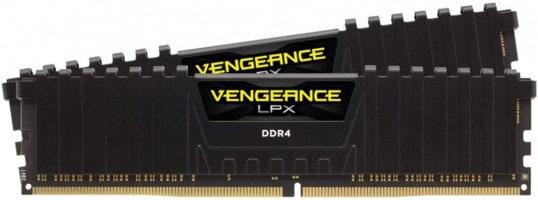 זיכרון ראם למחשבים נייחים – Corsair Vengeance LPX 16GB (2 X 8GB) DDR4 3600 רק ב73.86$ / 251 ₪ (בזאפ 427 ₪)