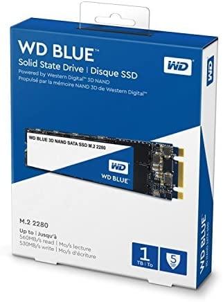 WD Blue 3D NAND 1TB רק ב519 ₪ עד הבית! (בזאפ 981 – 799 ₪)