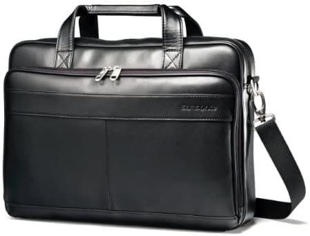"""תיק צד Samsonite Leather בצלילת מחיר! רק 66.4$ / 225 ש""""ח (פטור ממס!) כולל משלוח!"""