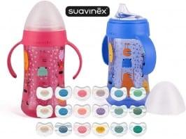 מוצצים, בקבוקים ועוד ממותג העל SUAVINEX ב- 30% הנחה גורפת!