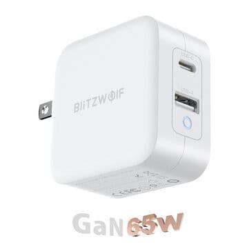 חדש מבליצוולף! מטעןGaN Tech-BlitzWolf® BW-S18 65W – חזק ומהיר במיוחד – וגם קומפקטי! (הזמנה מוקדמת) – $22.99