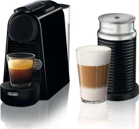בוקר טוב! קפה? Nespresso Delonghi Essenza Mini עם מקציף חלב Aeroccino 3 רק ב619 ₪!