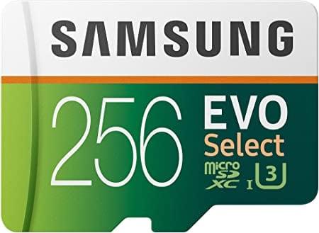 כרטיס הזיכרון הכי מומלץ Samsung EVO Select נפח 256GB בצניחת מחיר! רק $38.63