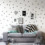 US $0.57 41% OFF|Black Polka Dots Wall Stickers Circles DIY Stickers for Kids Room Baby Nursery Room Decoration Peel Stick Wall Decals Vinyl|Wall Stickers|