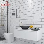 US $16.45 36% OFF|5M Modern Kitchen Tile Sticker Bathroom Waterproof Self adhesive Wallpaper Living Room Bedroom Vinyl PVC Home Decor Wall Sticker|Wall Stickers|