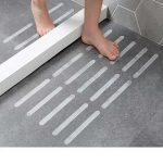 US $2.29 34% OFF|10/18 Pcs Anti Slip Bath Grip Stickers Non Slip Flooring Safety Bath Tub Shower Strips Tape Mat Applique Bathroom Accessories|Bath Mats|