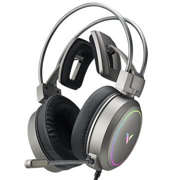 אוזניות גיימינג RAPOO Vh610 עם 7.1 ערוצים, מיקרופון וRGB רק ב$35.99!