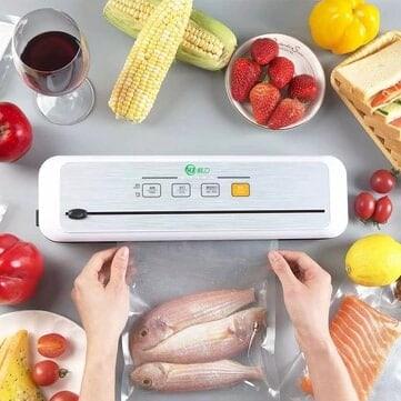 """מכונת ואקום חדשה מבית שיאומי – XianLi Food Vacuum Sealer – רק ב162 ש""""ח!"""
