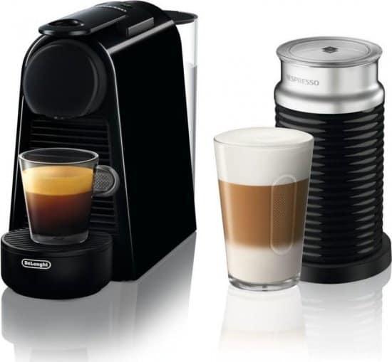 מבצע שיעיר אתכם! מכונת קפה Nespresso Delonghi Essenza Mini עם מקציף חלב Aeroccino 3 רק ב₪569