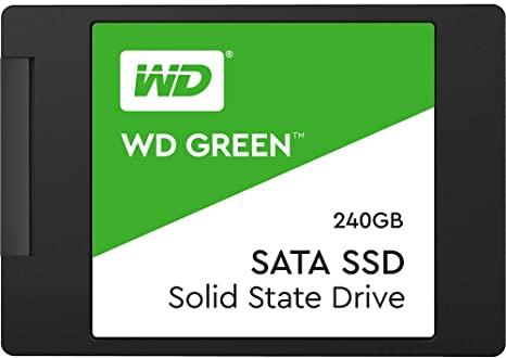 כונן Western Digital 240GB WD SSD רק ב37.77$ / 127 ₪ עד הבית!