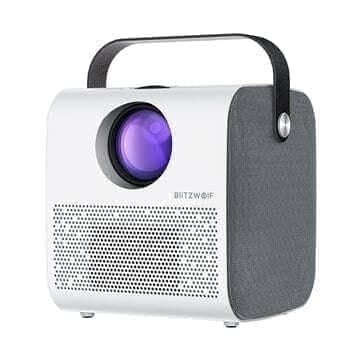 BlitzWolf® BW-VP5 HD מקרן נייד עם בלוטות'