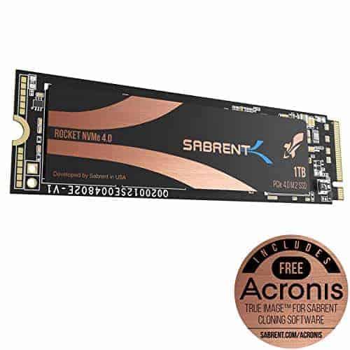 סייל Sabrent באמזון! מגוון כונני SSD מהירים במיוחד (חיצוני/פנימי) ב20% / 20$-64$ הנחה!