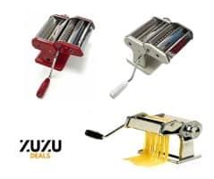 """מכונה ביתית להכנת פסטה עשויה פלדה מבית Tools רק ב119 ש""""ח במקום 199 ש""""ח"""
